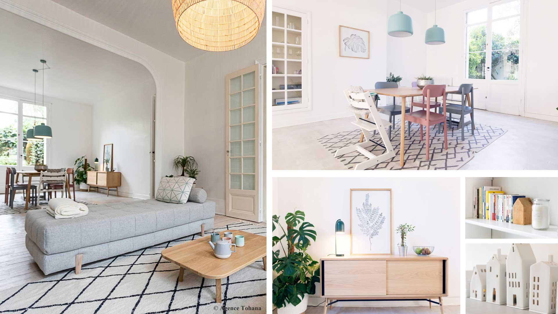 Projets d'architecture intérieure et décoration de maisons et d'appartements