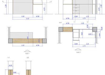 Design de meubles sur mesure - Agence Tohana - Ile de La réunion 974