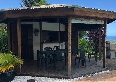 Le kiosque avant- Projet de Home Staging d'une maison à vendre - Ile de La Réunion - 974