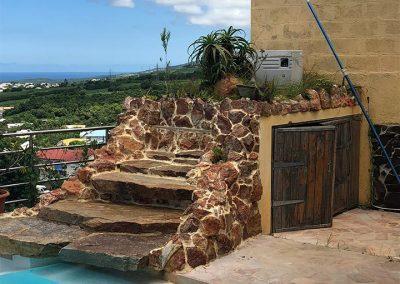 La cascade avant - Projet de Home Staging d'une maison à vendre - Ile de La Réunion - 974